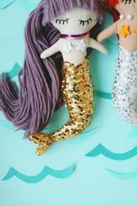 Deniz Kızı Oyuncak Nasıl Yapılır? 2