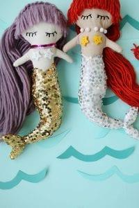Deniz Kızı Oyuncak Nasıl Yapılır? 3