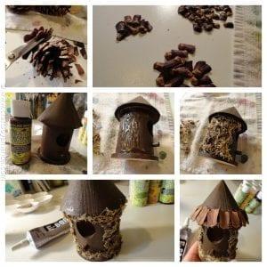 DIY, Ahşap Kuş Evi Süsleme Yapımı 9