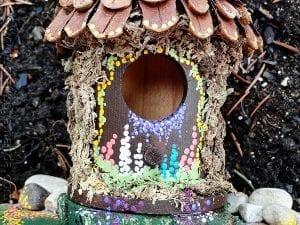 DIY, Ahşap Kuş Evi Süsleme Yapımı 5