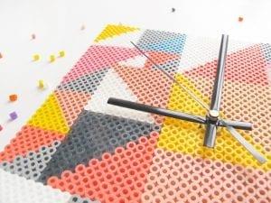 DIY, Hama Boncuklarından Saat Yapılışı