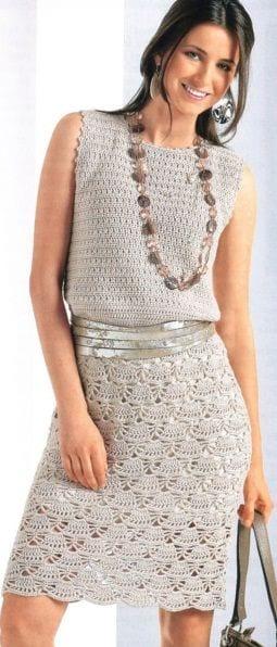 Örgü Elbise Modelleri 101
