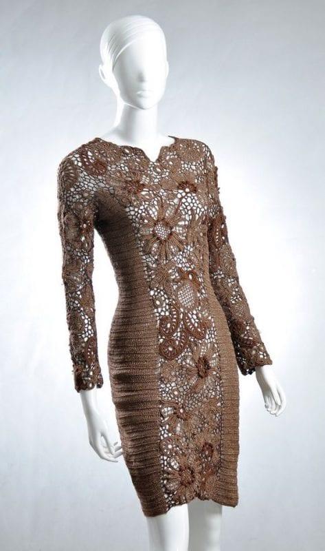 Örgü Elbise Modelleri 103