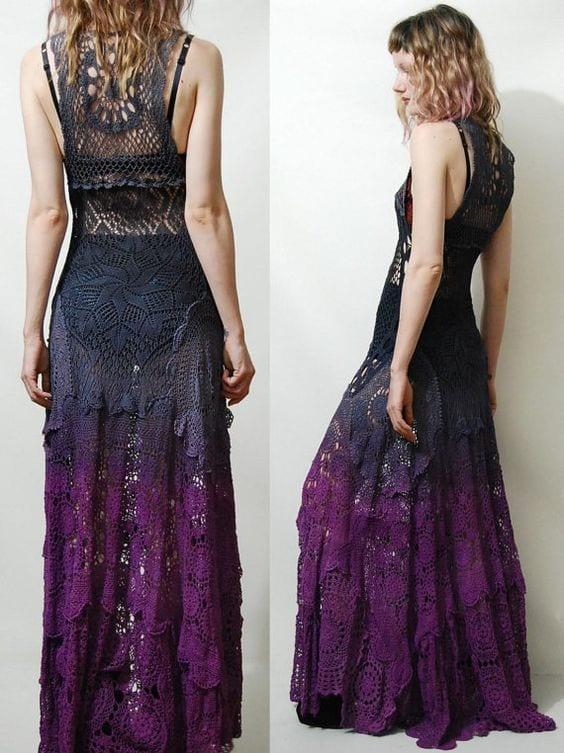 Örgü Elbise Modelleri 109