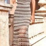 Örgü Elbise Modelleri 11