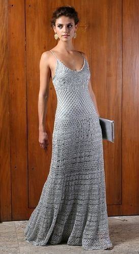 Örgü Elbise Modelleri 21