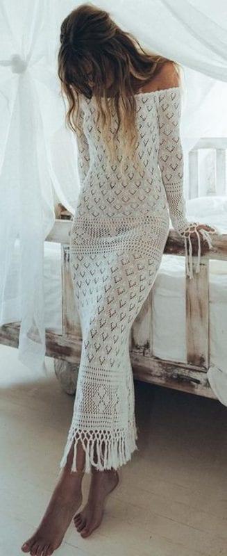 Örgü Elbise Modelleri 22