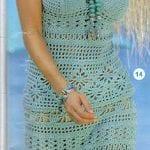 Örgü Elbise Modelleri 24