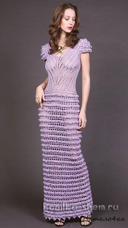 Örgü Elbise Modelleri 25
