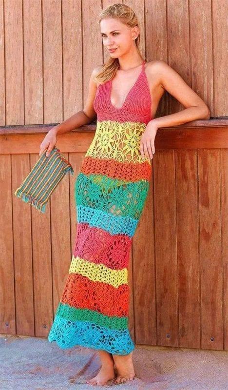 Örgü Elbise Modelleri 28