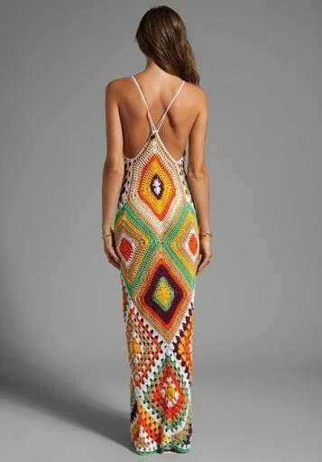 Örgü Elbise Modelleri 29