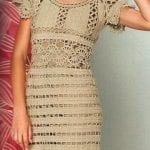 Örgü Elbise Modelleri 33