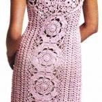 Örgü Elbise Modelleri 40