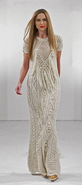 Örgü Elbise Modelleri 4