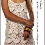 Örgü Elbise Modelleri 49