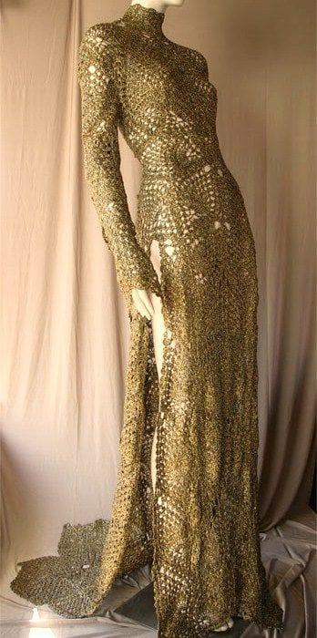 Örgü Elbise Modelleri 63