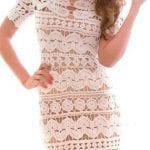 Örgü Elbise Modelleri 6