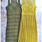Örgü Elbise Modelleri 76