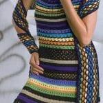 Örgü Elbise Modelleri 78