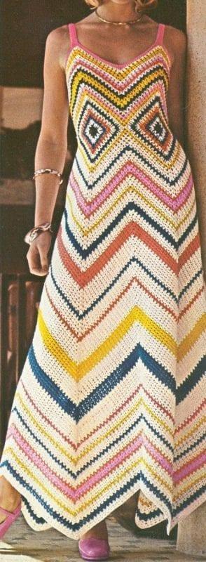 Örgü Elbise Modelleri 94