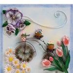 Quilling Sanatı Örnekleri 16