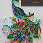 Quilling Sanatı Örnekleri 1