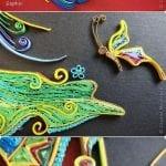 Quilling Sanatı Örnekleri 38