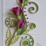 Quilling Sanatı Örnekleri 57