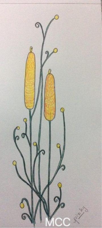 Adım Adım Kolay Çiçek Çizme 7