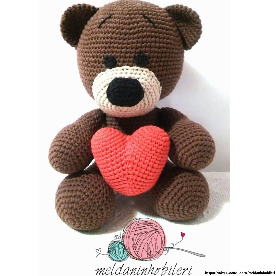 Crochet Bear Video Tutorial | Crochet teddy bear pattern, Crochet ... | 964x964