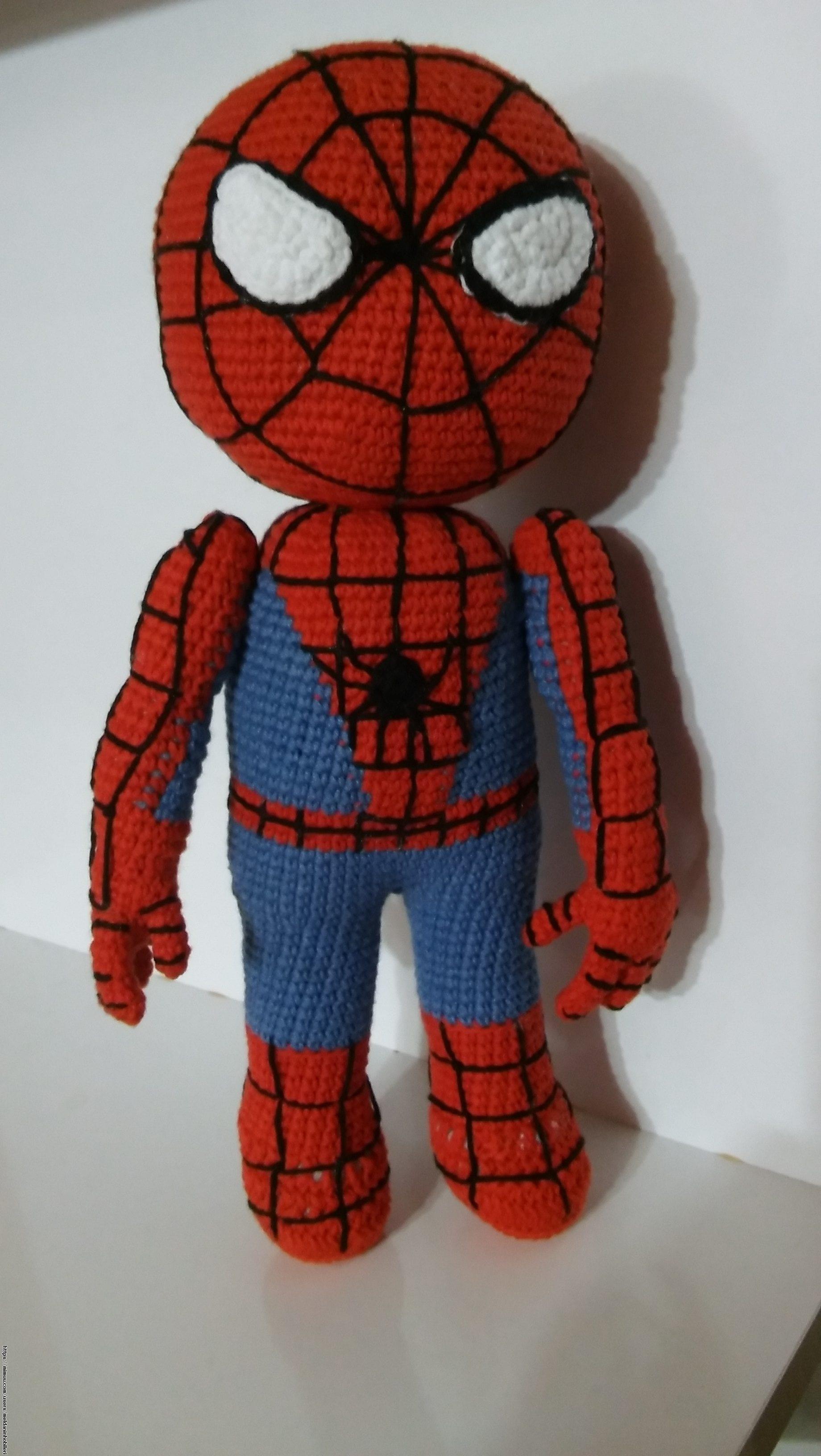 Örümcek Adam Çocuk Bere Yapımı