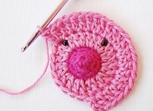 Ayı Motifli Bebek Battaniyesi Yapılışı 10