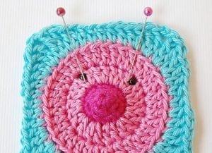 Ayı Motifli Bebek Battaniyesi Yapılışı 15