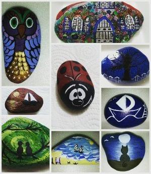 Taş Boyama Sanatı Nasıl Yapılır ve Örnekler