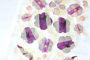 DIY, Canlı Çiçekten Çanta Yapılışı 10