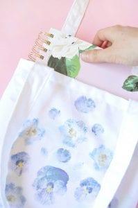 DIY, Canlı Çiçekten Çanta Yapılışı 5
