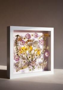 DIY, Canlı Çiçekten Pano Yapılışı 9