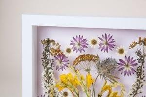 DIY, Canlı Çiçekten Pano Yapılışı 11