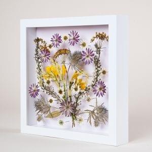 DIY, Canlı Çiçekten Pano Yapılışı 12