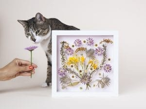 DIY, Canlı Çiçekten Pano Yapılışı 13