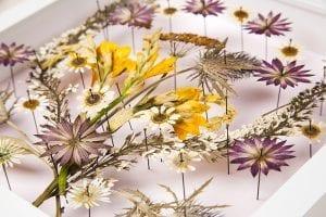 DIY, Canlı Çiçekten Pano Yapılışı 8