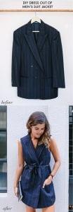 DIY, Ceketten Elbise Yapılışı 11