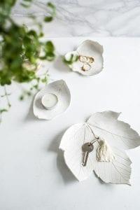 DIY, Polimer Kilden Yaprak Tabak Yapılışı 9