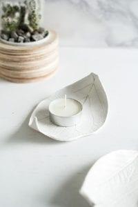DIY, Polimer Kilden Yaprak Tabak Yapılışı 12