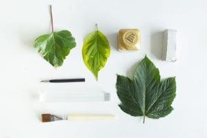 DIY, Polimer Kilden Yaprak Tabak Yapılışı