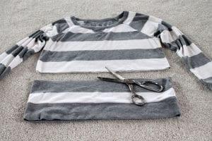 Eski Gömlek ve Süveterden Yeni Moda Kazak Yapılışı 7
