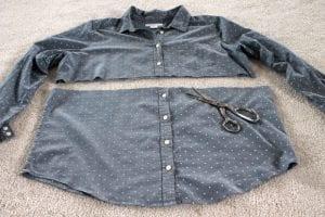 Eski Gömlek ve Süveterden Yeni Moda Kazak Yapılışı 8
