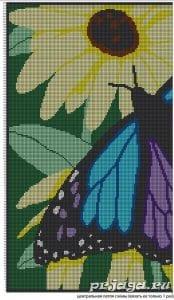 Kelebek Desenli Battaniye Yapılışı