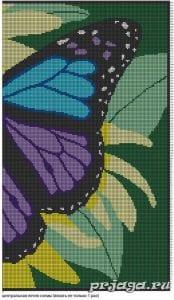Kelebek Desenli Battaniye Yapılışı 3