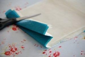Krepon Kağıdı ile Tül Çiçek Yapımı 2